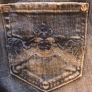 "Vigos Jeans sz 1  28.5 ""waist"